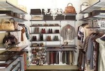 """≫∙∙∙∙≫∙∙∙∙ Dream Closet ∙∙∙∙≪∙∙∙∙≪ / :: """"I love my money right where I can see it…hanging in my closet"""" Carrie Bradshaw ::  Great clothes deserve a great home <3 What does your closet look like? Need a makeover? Check out these fabulous closets for inspiration, tips, or just to dream about."""
