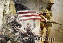 Patriotic Collages