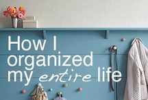 Love to organize! / Organizing your surroundings helps you organize your entire life...!