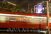 Night Shots - San Diego, CA / Follow the Night Light