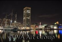 Night Shots - Baltimore, MD / Follow the Night Light