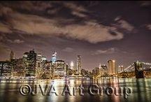 Night Shots - NYC, New York / Follow the Night Light