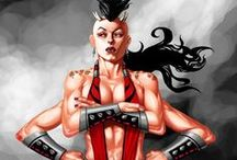 Games ● Character ● Sheeva (Mortal Kombat)