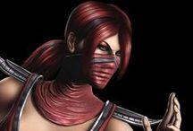 Games ● Character ● Skarlet (Mortal Kombat)
