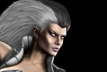 Games ● Character ● Sindel (Mortal Kombat)