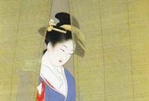 Japanese painting, print work