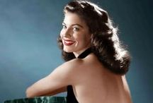★AVA GARDNER The Barefoot Contessa / Ava Lavinia Gardner (December 24, 1922 – January 25, 1990) was born on a tobacco farm, where she got her lifelong love of earthy language and going barefoot. With zero acting experience, her first 17 film roles, 1942-1945, were one-line bits or little better. Her film career did not bring her great fulfillment, but her looks may have made it inevitable; many fans still consider her the MOST BEAUTIFUL actress in Hollywood HISTORY!!