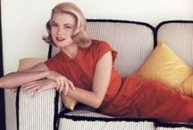 ★ GRACE KELLY High Society / GRACE Patricia KELLY (November 12, 1929 – September 14, 1982) was an American film actress who, after marrying Prince Rainier III became known as the PRINCESS OF MONACO. In October 1953, Kelly gained stardom from her performance in the film Mogambo.This film won her a Golden Globe Award and an Academy Award nomination in 1954. She had leading roles in 5 films, including The Country Girl, for which her deglamorized performance earned her an Academy Award for Best Actress.