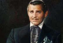 ★CLARK GABLE Frankly, my dear / CLARK GABLE(February 1, 1901 – November 16, 1960) was an American film actor, often regarded as THE KING OF HOLLYWOOD or just simply as The King. Gable began his career as a stage actor and appeared as an extra in silent films between 1924 and 1926, and progressed to supporting roles with a few films for MGM in 1931. The next year he landed his first leading Hollywood role and became a LEADING MAN in more than 60 motion pictures over the next 3 decades!!