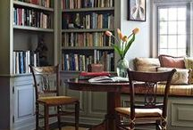 HOME  |  Library / Interesting ideas for home library decor.