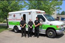 Medical First (MFR) Unit / The  St. John Ambulance Medical First Response Service Unit is comprised of volunteers from a variety of backgrounds who log approximately 30,000 hours of community service at over 250 events in the communities we serve each year