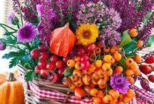 Herbst - Blumen und Co. / Blumenideen und Deko für den Herbst