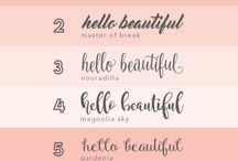 Calligraphy & Downloads / Free downloads!