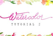 Watercolour Resources & Tips