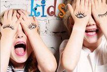 Discover kids / Voorbereiding Discover kids. Maken van vaandel en kaartjes. Knutselvoorbeelden voor op de poster en kaartjes.