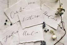 Calligraphy & Handmade Paper