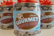 Chewy's Gourmet People Chow / People Chow in gourmet flavors.  A family business that was started by Jonathan, Ryan, Alec and Samantha, four wonderful children with one great idea.