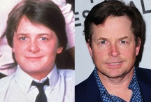 Now and Then - Celebs / celebrities then and now / by Jan Gordon