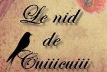 Mes créations. Le nid de Cuiiicuiii. / Création de bijoux de divers styles et avec diverses matières. Ils sont à vendre dans ma boutique : http://www.alittlemarket.com/boutique/le-nid-de-cuiiicuiii  Et je peux réaliser sur demande, selon vos envies. ;)