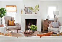 Home Décour: Living Room / Ramp up your living room décour with some of these fantastic designs and trends!