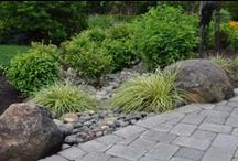 DIY Inspiration: Lanscape Ideas / Get dirty in the yard or busy outside of the home with these landscaping ideas!