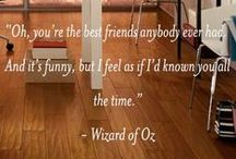 Inspirational Friendship Quotes / Enjoy these friendship quotes from Flooring Canada: Where Friends Send Friends.
