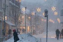 Winter Wonderland / My favorite season / by Brigitte Ilona