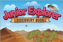 BLM Junior Explorer / Welcome Junior Explorers! Here you'll find pins that link to all of our current Junior Explorer Activity Books. They are all free downloads for you and your family to enjoy.  / by Bureau of Land Management