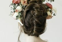Wedding/Hair&Head / Up or down? Flower or vail?