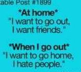 teenager & relatable posts