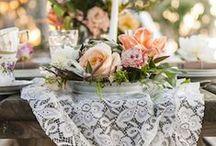 Beautiful Wedding Dinner Tables