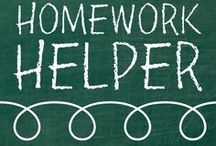 Homework Helper / Helpful pins for teachers and students of all ages to use both in and outside of the classroom.