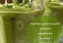 green smoothie / zielone koktajle