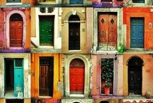 Doors Around the World / There's something inspiring about doors. They represent the unknown, opportunities opening and closing, adventures not yet begun, and new beginnings. These are some of our favorite doorways from around the world.
