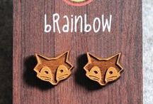 Wooden jewelry / Great ideas for eco gift!