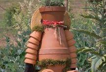 Garden recycle / Kierrätyspuutarha