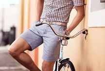 For the Gentlemen: Bikestyle / Just because you are exercising doesn't mean you can't look dapper! Great fashionable looks to wear while you're on the bike. / by Schwinn Bicycles