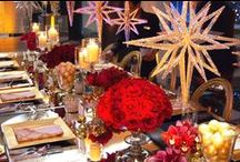 """Living Grand Holiday / Grand Hyatt New York concluded the #livinggrand  event series last night.  The global event wrapped in New York City with the hotel playing host to an intimate dinner for influencers to celebrate """"Living Grand for the Holidays.""""  The spectacular setting was designed and styled by Mark Stephen Production. @grandhyattnyc @grandhyatt"""