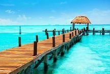 Mexico | Cancun / Home to the most pristine, softest, cool-to-the-touch beaches in the world, and some of the most thrilling underwater adventures and after hours nightlife in all of Mexico. All-inclusive Cancun resorts allow you to experience the best Cancun has to offer.