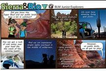 Sierra & Rio / In a series created by BLM California employee Josh Hammari, Sierra & Rio explore public lands and learn conservation principles along their adventures. / by Bureau of Land Management