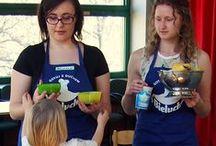"""Warsztaty """"Mały dietetyk"""" / Bieluch z wizytą u przedszkolaków Celem warsztatów jest  nauczenie dzieci prawidłowych postaw żywieniowych, a także przekazanie informacji o bogactwie wartości odżywczych zawartych w   kubeczku jogurtu lub szklance mleka."""