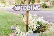 JOUR J / Ambiance de mariage ... Mariage de vos rêves.. idées de déco parfaites pour le jour J