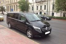Mercedes V Class for Transfers and tours to Athens / The most beautiful ever Mercedes Limo- mini van manufactured equipped with 2  electric doors,2 Clima,CD,tinted windows,leather seats,DVD. Our mini vans are perfect for VIP clients with high demands and expectations.www.Besttravel.gr