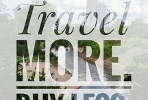 Travel Inspiration / Filled with inspirational travel quotes, get inspired with me