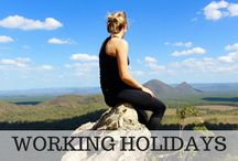 Gap Year Travel and Working Holidays / Sharing posts on the benefits of a gap year before university and information on working holidays around the world