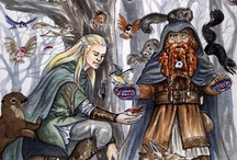 """welcome to Middle Earth / Middle Earth is a realm in Norse Myth. J.R.R. Tolkien borrowed the term (and other stuff) for his epic fantasies; The Hobbit, Lord of the Rings, the Silmarillion and others. These great works inspire my own work. Here are a few marvelously geeky forays into those realms: art, armour, costume and characters. If it says """"swordwhale"""" it's mine."""