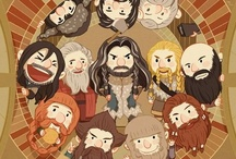"""Dwarfisms / I always liked Lord of the Rings best. I identified with the Elves. The Peter Jackson's Hobbit came along, and thirteen diverse, lovable, and short characters: Ori Dori Nori Bifur Bofur Bombur Oin Gloin Fili Kili Balin Dwalin and Thorin Oakenshield! They took over my tumblr and some of my boards here, so now they their own. They can be quite rowdy, and push the limits of PG13 ratings, but not much. If it says """"swordwhale"""" it's mine."""