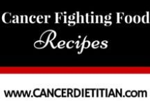 "Cancer Fighting Food Recipes / These are recipes that include at least one of the American Institute for Cancer Research's list of  ""Foods That Fight Cancer""."