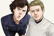 Sherlocked  / I read the books back in high school, somewhere in the Dark Ages of the 70s. I loved the Jude Law/Iron Man version. Then Martin Freeman and Benedict Cantspellisname happened. And Smauglock too. We pause to geek out...