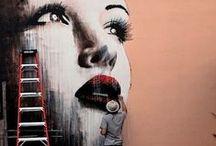 Arte nas ruas / by Eletéia Lilian